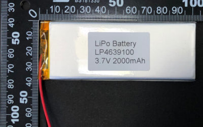 LiPoly Battery LP4639100 3.7V 2000mAh with PCM & Wires