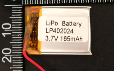 LiPoly Battery LP402024 3.7V 165mAh with PCM