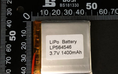LiPoly Battery LP564546 3.7V 1400mAh