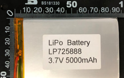 LiPoly Battery LP725888 3.7V 5000mAh with PCM
