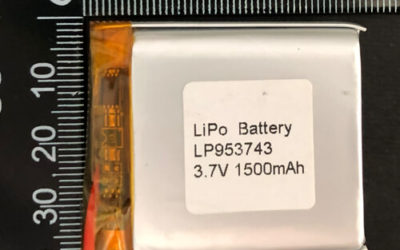 LiPoly Battery LP953743 3.7V 1500mAh with PCM