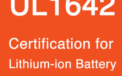 UL1642 Certification for Lithium-ion Battery