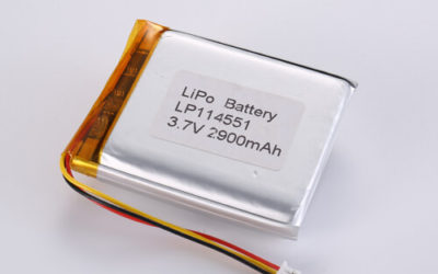 LiPoly Battery LP114551 3.7V 2900mAh