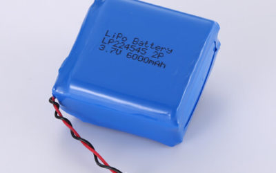 LiPoly Battery LP224545 2P 3.7V 6000mAh