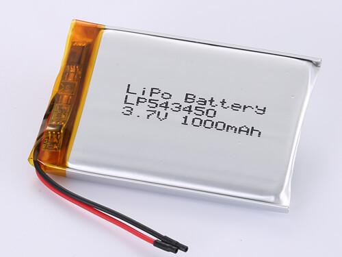 lipoly-battery-LP543450-1000mah