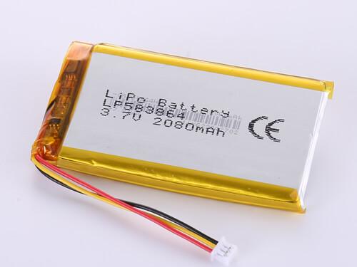 lipoly-battery-LP583864-2080mAh