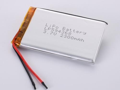 lipoly-battery-LP594368-2300mah