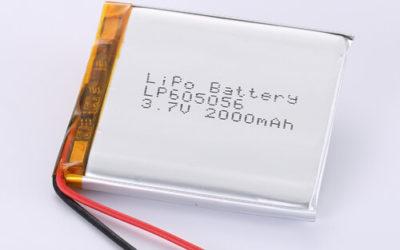 LiPoly Battery LP605056 3.7V 2000mAh