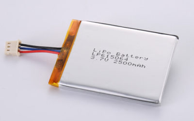 LiPoly Battery LP615064 3.7V 2500mAh