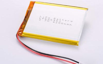LiPoly Battery LP686483 3.7V 4200mAh