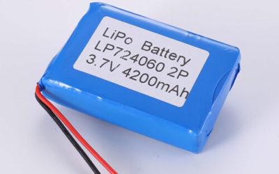 LiPoly Battery LP724060 2P 3.7V 4200mAh