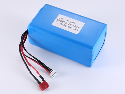 LiPoly Battery LP8873129 3S2P 11.1V 20000mAh