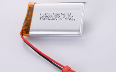 LiPoly Battery LP903450 3.7V 1500mAh