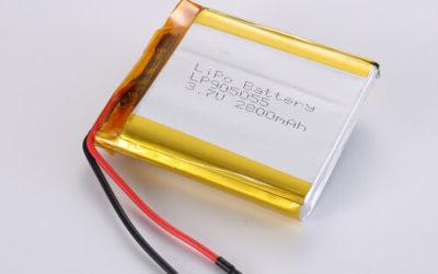 LiPoly Battery LP905055 3.7V 2800mAh