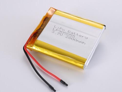 lipoly-battery-LP905055-2800mAh