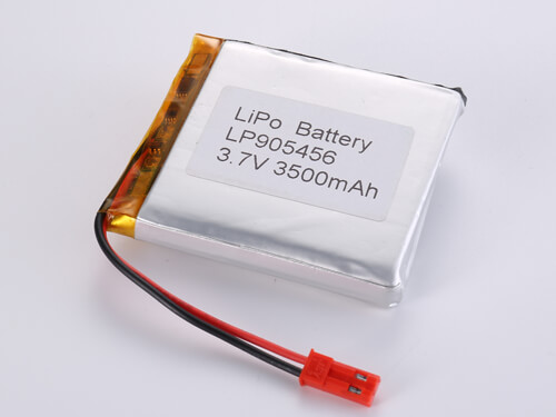 LiPoly Battery LP905456 3.7V 3500mAh