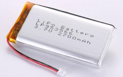 LiPoly Battery LP953566 3.7V 2700mAh
