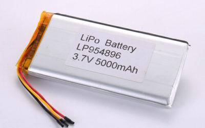 LiPoly Battery LP954896 3.7V 5000mAh