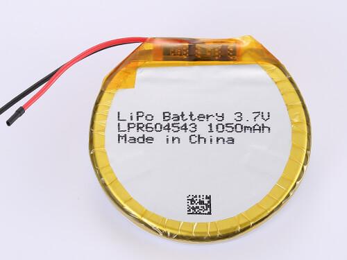 lipoly-battery-LPR604543-1050mAh