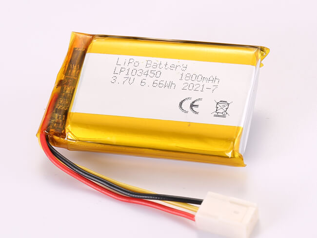 LiPoly-Battery-LP103450-1800mAh-Molex-2510-3P
