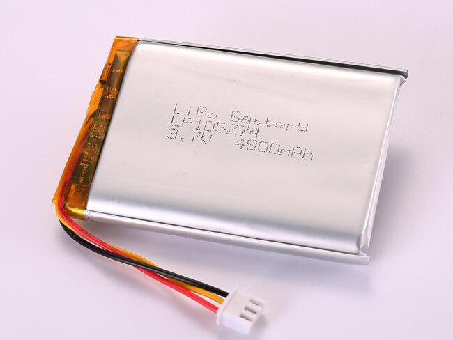 LiPoly-Battery-LP105274-4800mAh-JST-XHP-3P