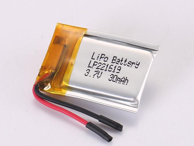 LiPoly-Battery-LP221619-30mAh