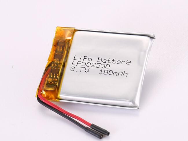 LiPoly-Battery-LP302530-180mAh