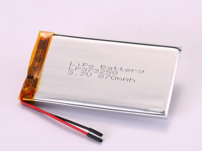 LiPoly-Battery-LP373258-870mAh