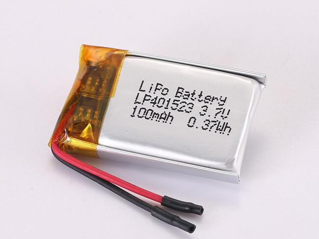 LiPoly-Battery-LP401523-100mAh