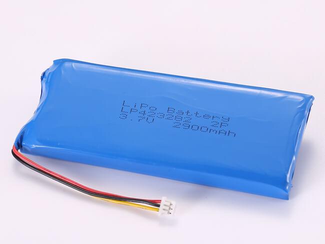 LiPoly-Battery-LP423282-2P-2900mAh-Molex-51021-0300