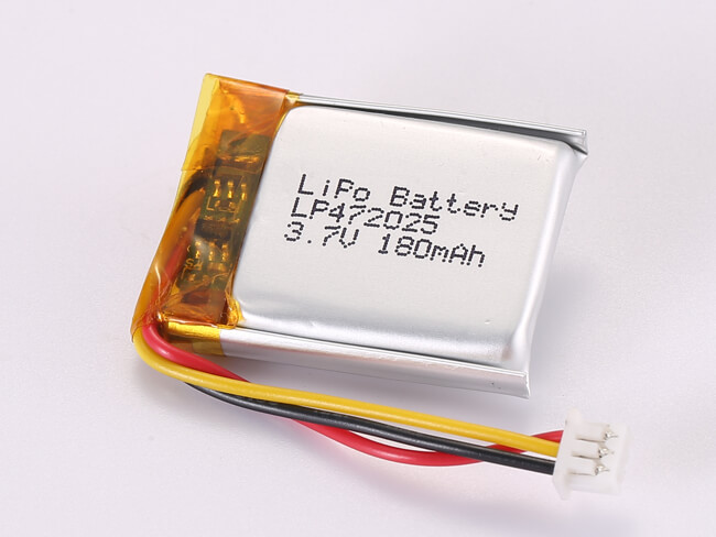 LiPoly-Battery-LP472025-180mAh-Molex-51021-0300