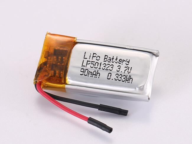 LiPoly-Battery-LP501323-90mAh