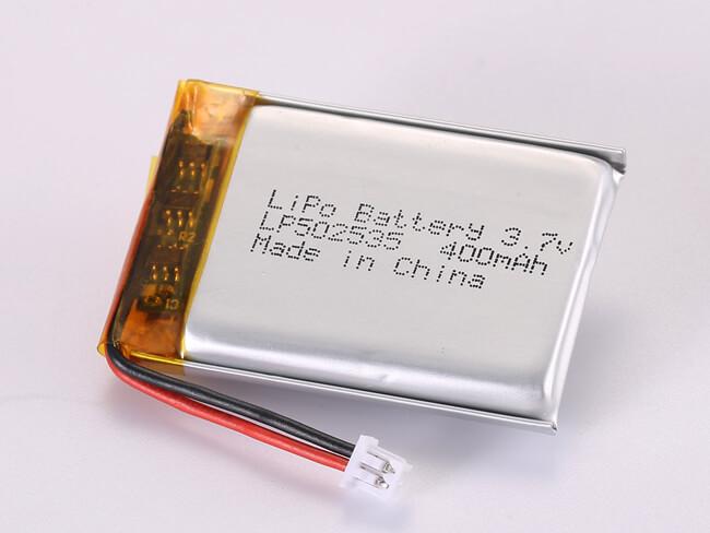 LiPoly-Battery-LP502535-400mAh-Molex-51021-0200