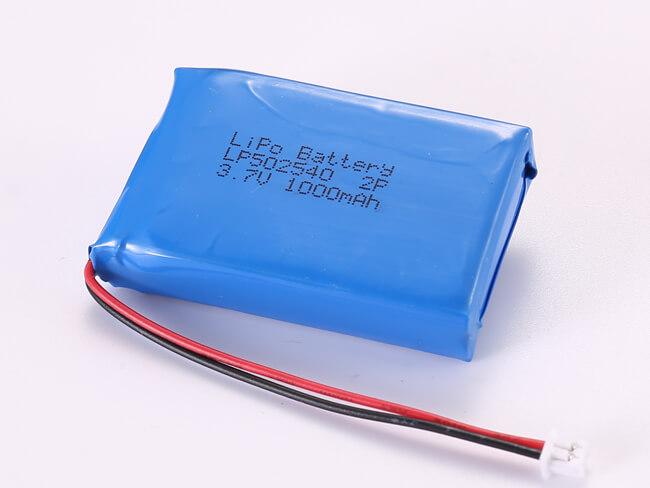 LiPoly-Battery-LP502540-2P-1000mAh-Molex-51021-0200