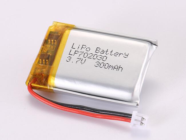 LiPoly-Battery-LP702030-300mAh-Molex-51021-0200
