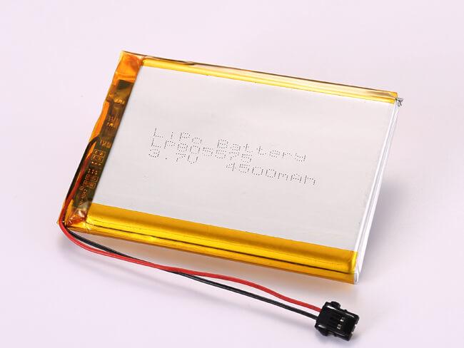 LiPoly-Battery-LP805575-4500mAh-Molex-2053410202