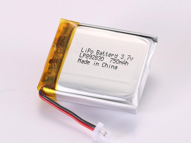 LiPoly-Battery-LP892830-750mAh-JST-SHR-02V-S-B