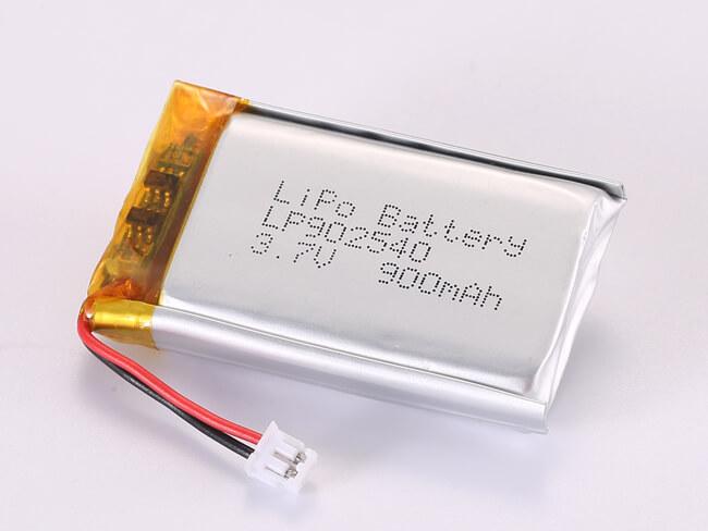 LiPoly-Battery-LP902540-900mAh-JST-ZHR-2
